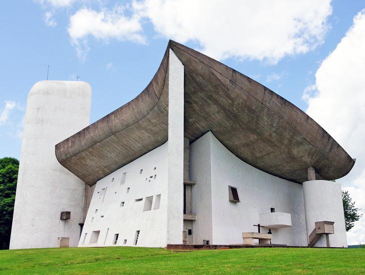 Le Corbusier's Iconic Ronchamp Chapel Damaged by Vanda