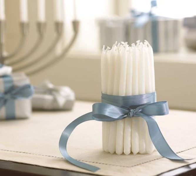 16 Ideas For Decorating Your Hanukkah With Candles (With images .
