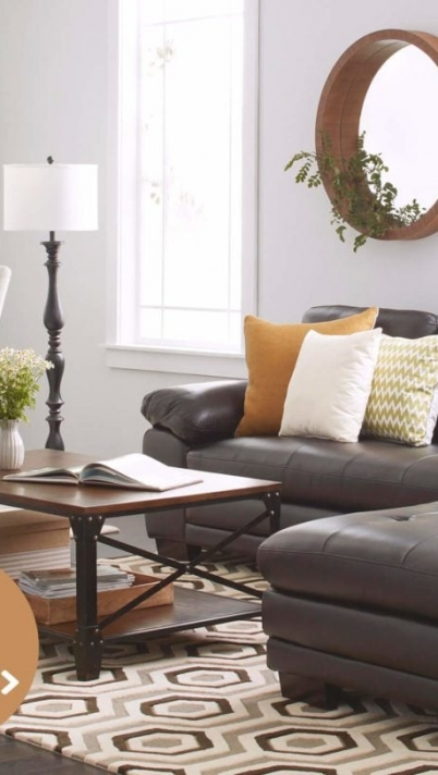 Contemporary Living Room Ideas Brown Leather Sofa Trendy Decor Try .