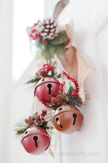 20+ Excellent Ideas To Use Jingle Bells In Christmas Decor Ideas .