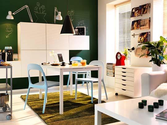 IKEA interior design ideas for small spac