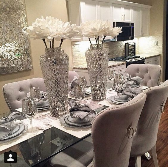 Dinner Room Decoration Ikea   Dining room table centerpieces .