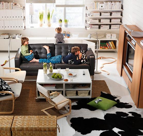 2011 IKEA Living Room Design Ide