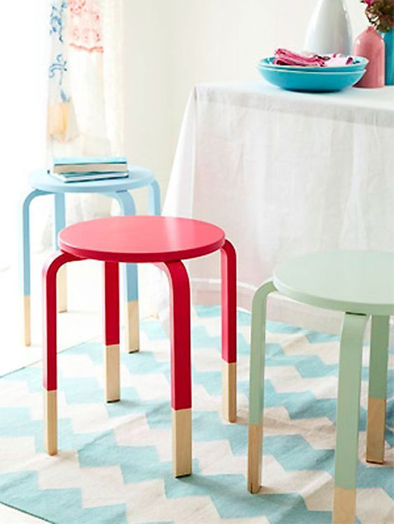 40 Amazing IKEA Frosta Stool Ideas And Hacks (с изображениями .