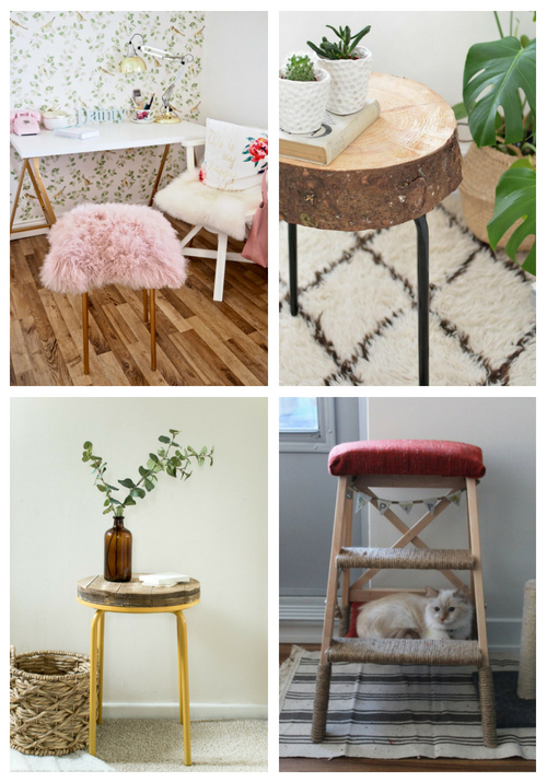 15 Best IKEA Stool Hacks You Need To Try   ComfyDwelling.c