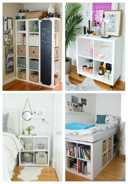 75 Cool IKEA Kallax Shelf Hacks   ComfyDwelling.c