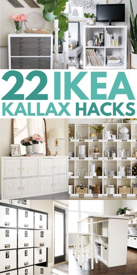 21 IKEA Kallax Hacks That You Need In Your Home Now - #hacks .