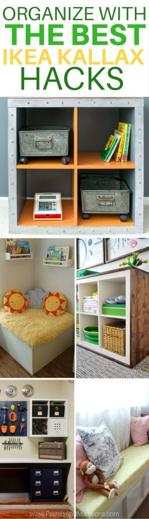 The Best Ikea Kallax Hacks and 20 Different Ways To Use Th