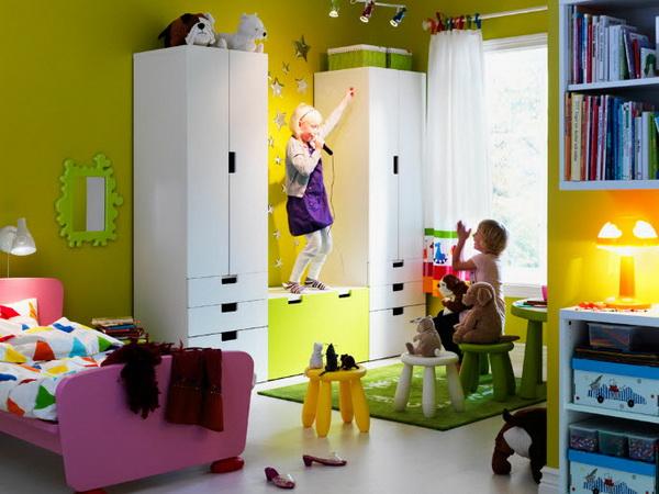 IKEA Kids Rooms Catalog Shows Vibrant and Ergonomic Design Ide