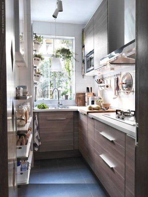 Pin by Marjorie Woodbridge on kitchens and eating spaces | Tiny .