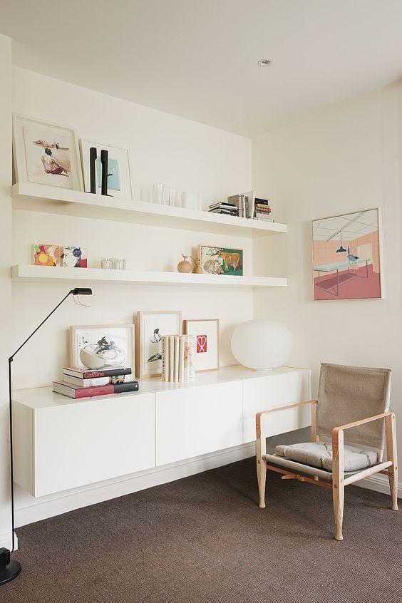 37 IKEA Lack Shelves Ideas And Hacks (DigsDigs)   Ikea lack .