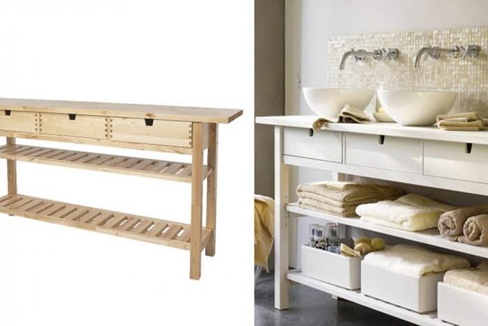 White NORDEN hack. | Ikea Ha