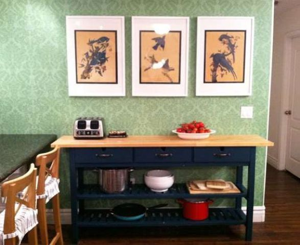 25 Ways To Use And Hack IKEA Norden Buffet | Painted sideboard .