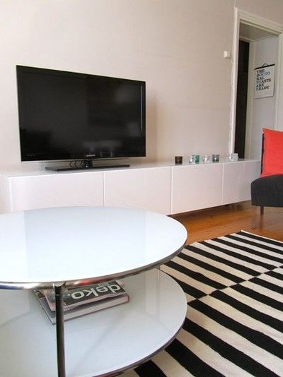 Ikea Strind coffee table - might take things in the LR in a .