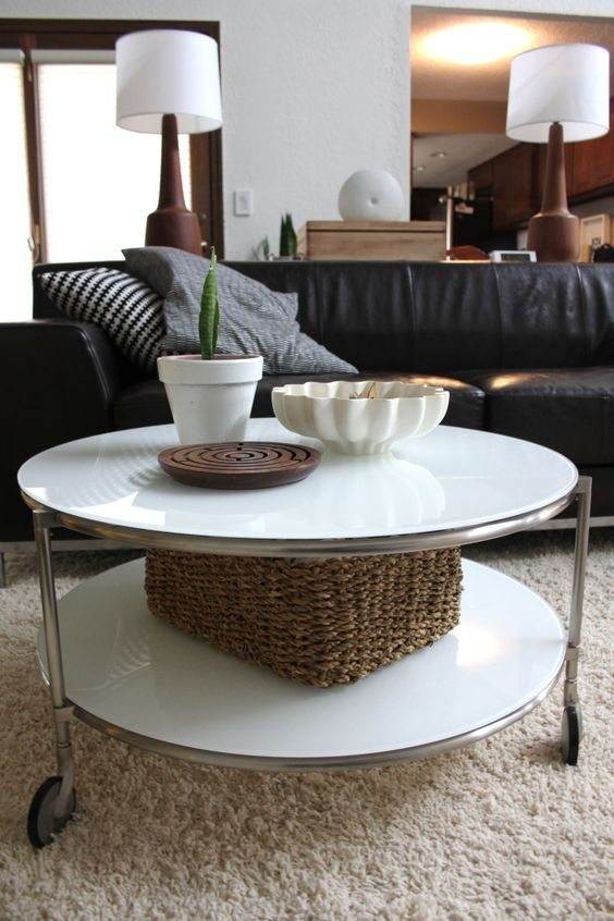 24 Ways To Use IKEA Strind Coffee Table For Decor | Coffee table .