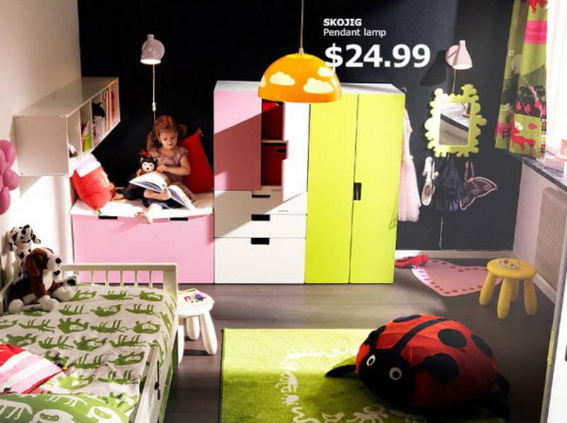 Ikea Kids Rooms Catalog Shows Vibrant And Ergonomic Design Ideas .