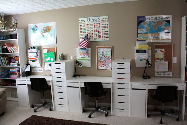 it's just Laine: Brandon and Rebecca's Home School Room Tour .