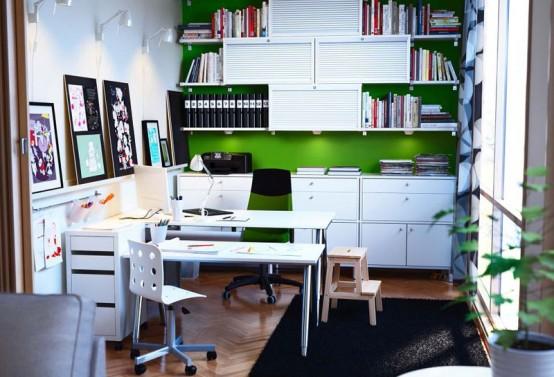 IKEA Workspace Organization Ideas 2012 - DigsDi