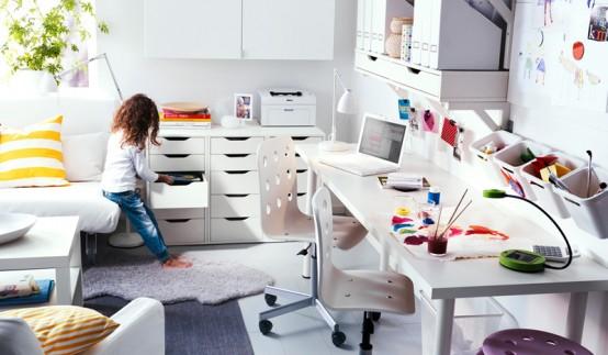 IKEA Workspace Organization Ideas 2011 - DigsDi