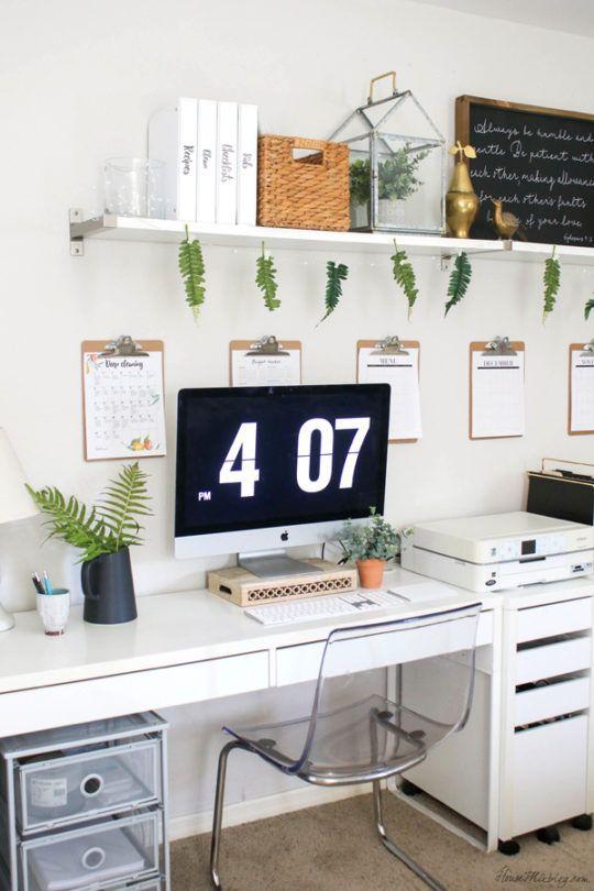 Office organization ideas and minimalist checklist   Ikea home .
