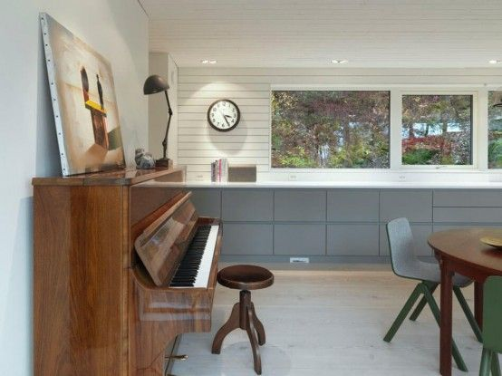 Impressive Dark Scandinavian Home With Modern Interiors | House .