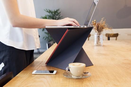 Increase Your Productivity: Sit-Stand Foldable LEVIT8 Desk - DigsDi