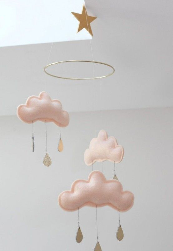 Incredibly Cute And Dreamy Nursery Mobiles   Kreatív, Textil, Dísz