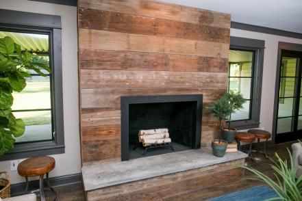 A Fixer Upper for a Most Eligible Bachelor | Reclaimed wood .