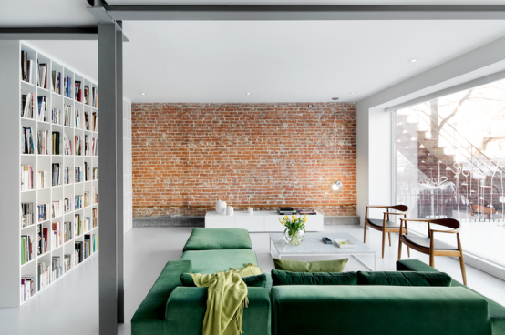 130-Year-Old Minimalist Apartment Renovation With Industrial .