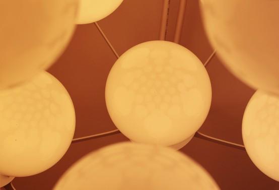 Industrial Birth Pendant Lamp Inspired By An Ovum - DigsDi