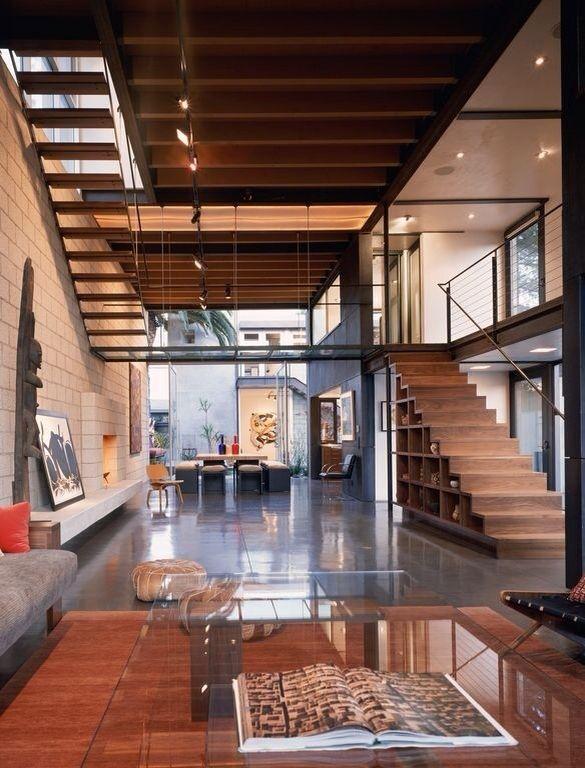 Doble altura | Diseños de casas, Arquitectura interior .
