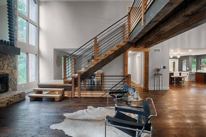 House Envy: Industrial chic chalet offers everything but the ski .