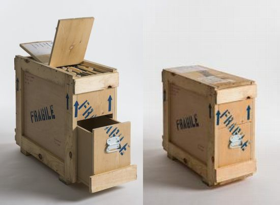 Furniture collection made from shipping crates   Crate furniture .