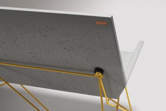 Industrial Furniture Line Of Steel And Concrete By Hard Goods .