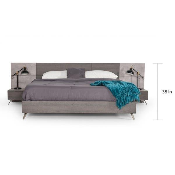 Shop Carson Carrington Uddnas Italian Modern Faux Concrete & Grey .