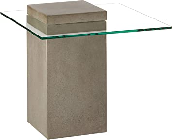 Amazon.com: Sunpan Modern Grange End Table, Anthracite Grey .