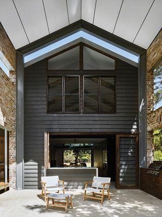 Coastal barn: Glass House Residence   Casas de vidrio, Diseño para .