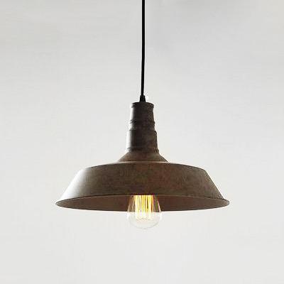 Vintage Industrial Pendant Light Rustic brown: Tudo and co – Tudo .