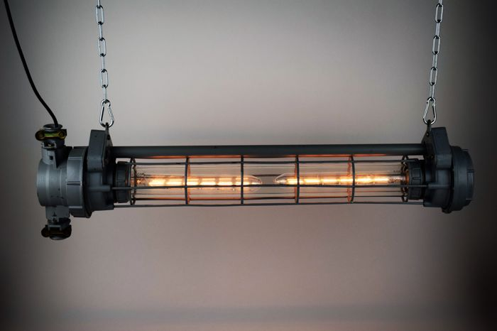 Unknown designer - USSR industrial tube lamp - Catawi