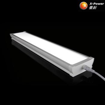 Linkable Tri Proof Led Tube Light Fixture Waterproof Industrial .