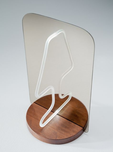 Reflection as a Key Design Tool: Ingenious Moitie Table Lamp .