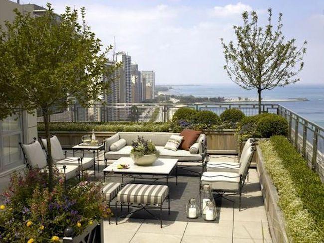 31 Amazing and Inspiring Rooftop Garden Ideas | Rooftop terrace .
