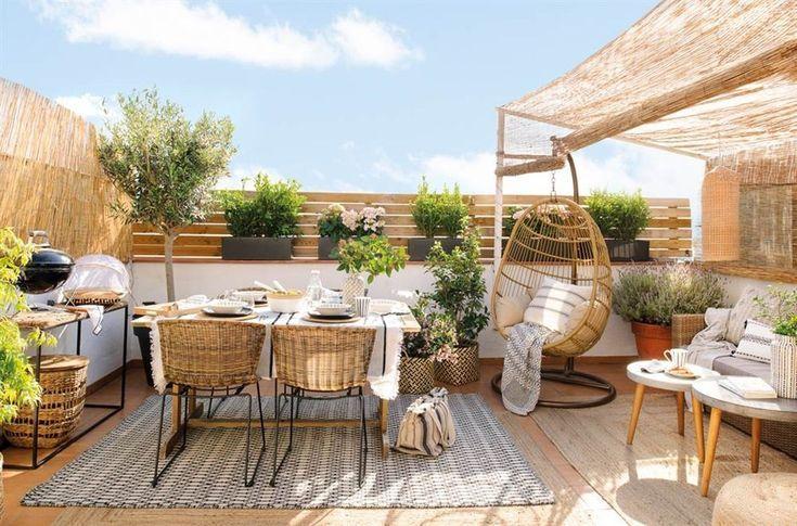 39 Inspiring Rooftop Terrace Design Ideas | Terrasse dekor, Design .