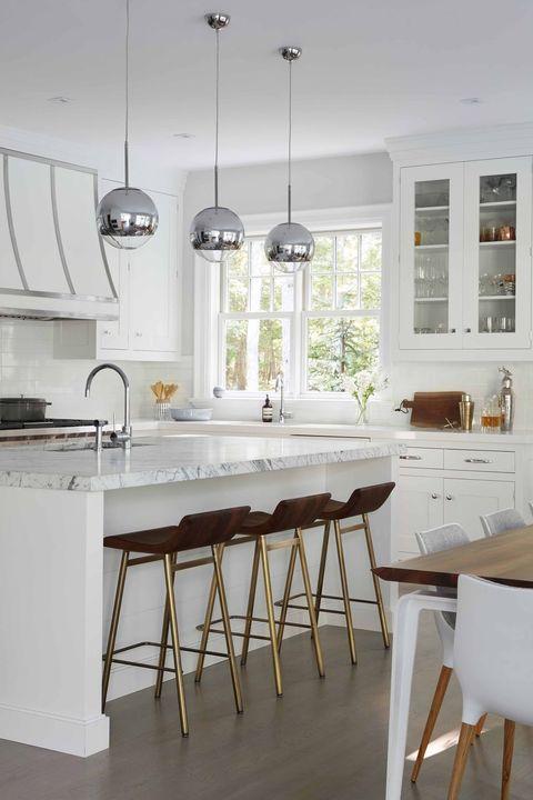 40 Best White Kitchen Ideas - Photos of Modern White Kitchen Desig