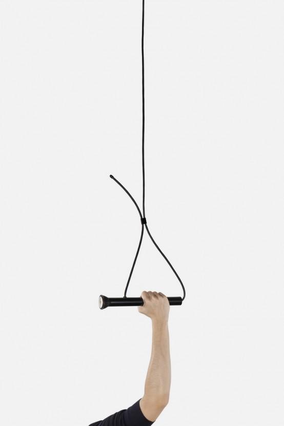 Intriguing Torch-Shaped LASSO Lamp - DigsDi