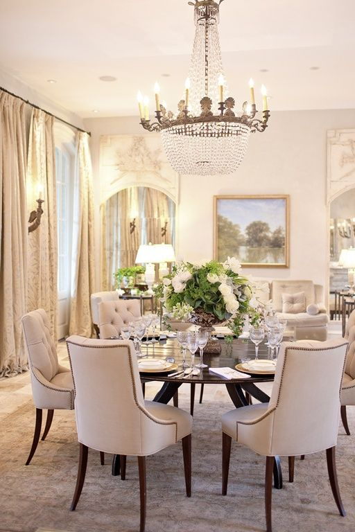 33 Inviting And Cute Vintage Dining Rooms And Zones | Luxury .