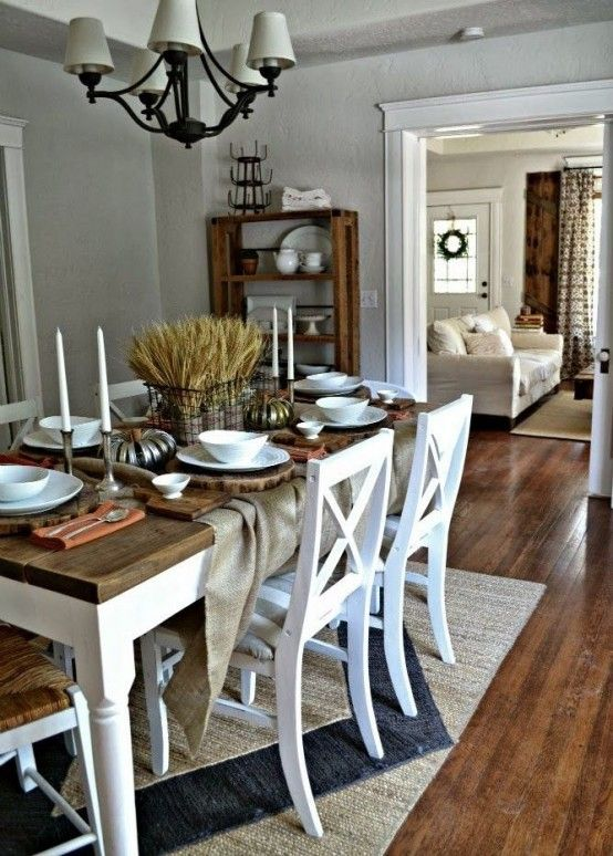 Inspiring And Cute Vintage Dining Rooms And Zones | Rustic dining .