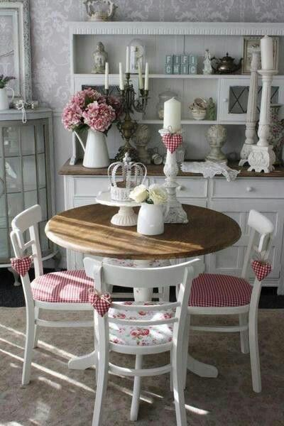 33 Inviting And Cute Vintage Dining Rooms And Zones | Decoración .
