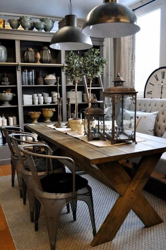33 Inviting And Cute Vintage Dining Rooms And Zones - DigsDigs .
