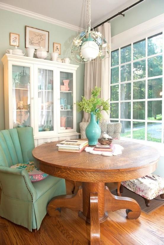 33 Inviting And Cute Vintage Dining Rooms And Zones – Dream Images .